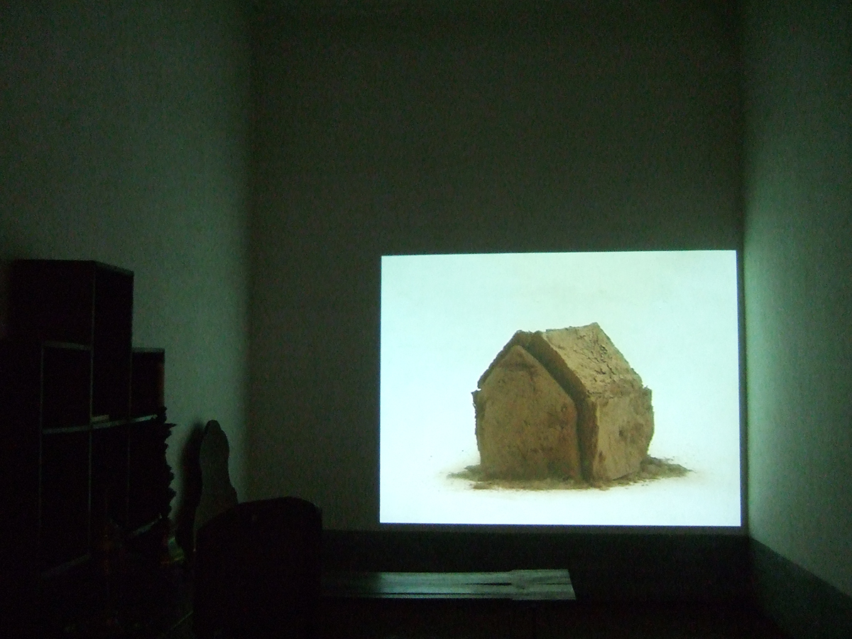 Thierry Ferreira, video art House of my land, arte vídeo, Palácio Nacional de Mafra