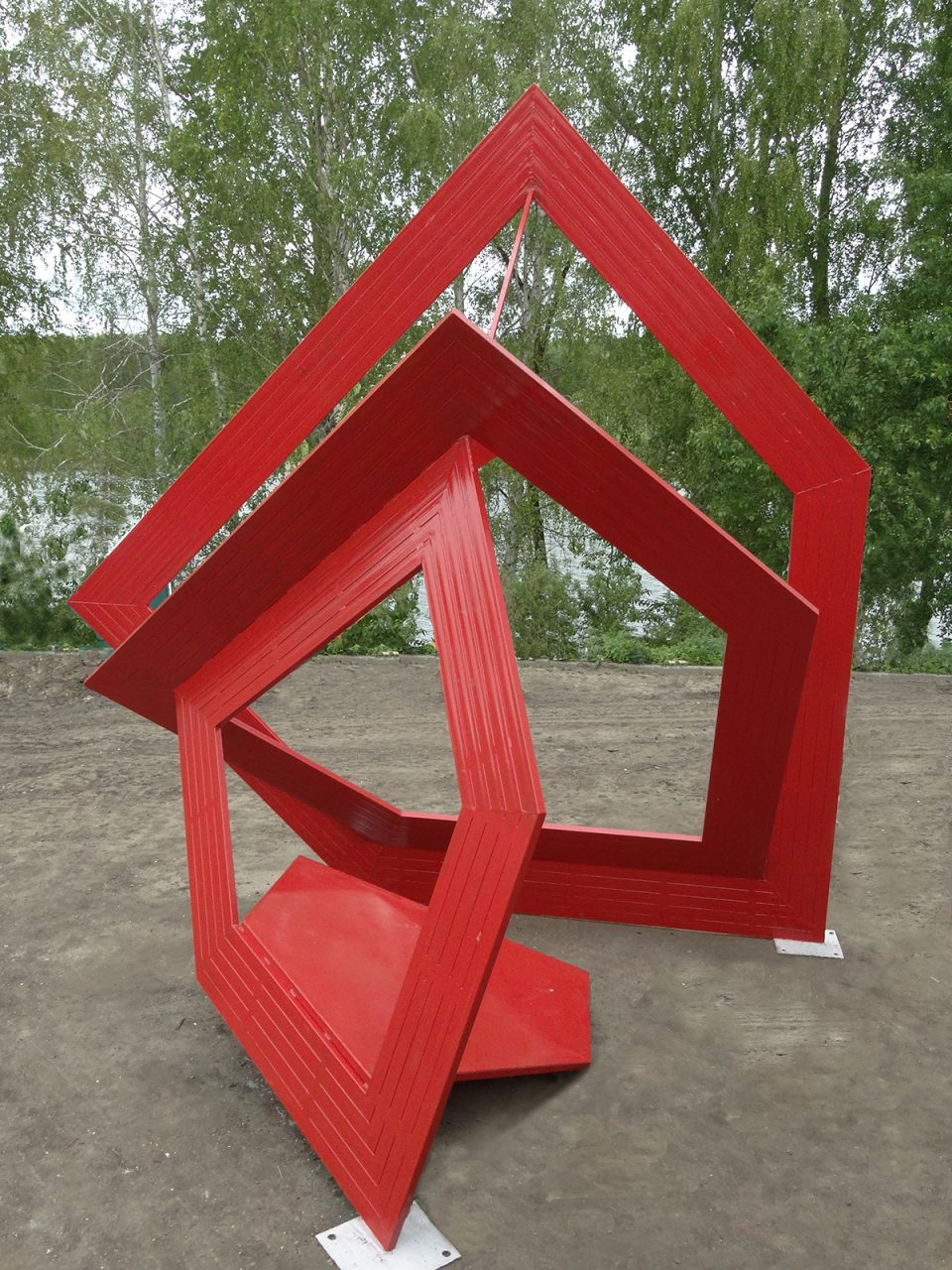 CUBIC FairyTale #51022020- 2016, Penza,, Russia, Steel, 500 x 550 x 450 cm, drawing, Project, sculpture, model, public sculpture, public art, architecture, contemporary art, art, Thierry Ferreira, design, installation, sitespecific, photography, video, Landart