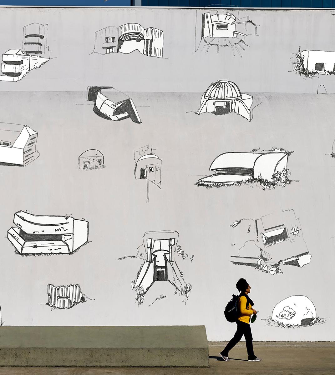 drawing, Project, sculpture, model, public sculpture, public art, architecture, contemporary art, art, Thierry Ferreira, design, installation, sitespecific, photography, video, Landart, arte urbana, Graffiti, Street art, Rébus, Hieróglifo, tag